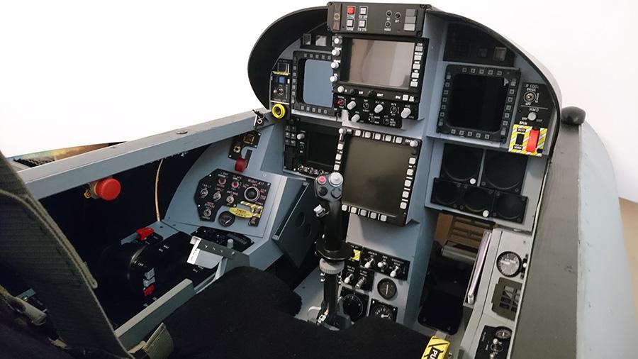 Bergisons F/A-18 Super Hornet flight simulator